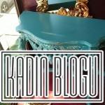 mavi vintage mobilya