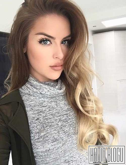 Ombre saç modelleri