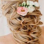 çiçekli gelin saçı aksesuarı
