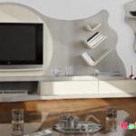 Raflı Tv Ünitesi Modeli