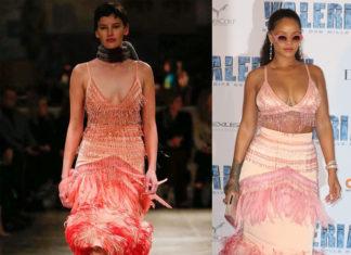 Rihanna'nın Paris Prömiyeri Stili : Prada