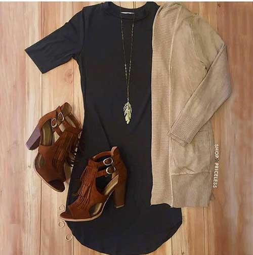 Sonbahar Elbise Kombinleri-14