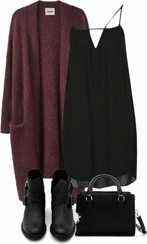Sonbahar Elbise Kombinleri-18