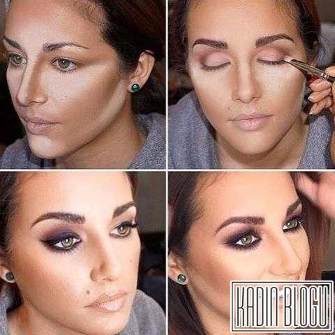 Yüz Şekline Göre Kontür Makyaj Teknikleri