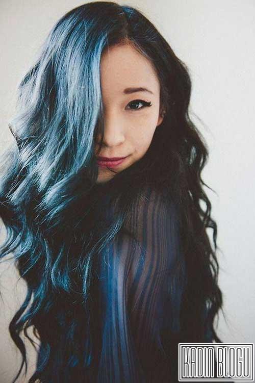 Mavi Ombre Saç Modelleri 2016 Türkiyenin Kadınlarının Blogu