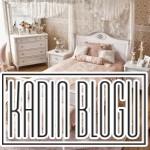 beyaz vintage yatak odası takımı