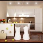 Küçük Beyaz Mutfak Dolabı Modelleri