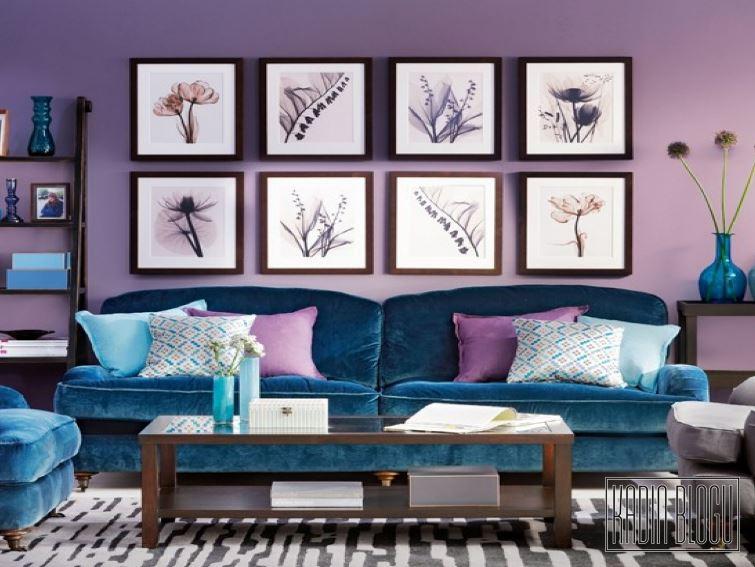 Salon Dekorasyonunda Kullanılacak Renkler