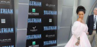 """Valerian Galasında Pamuk Şeker """"Rihanna"""""""